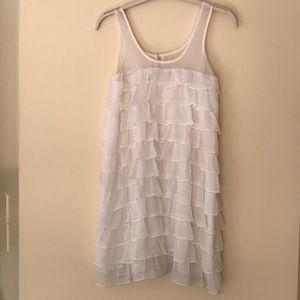 Aerie layered flounce dress